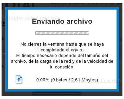 Enviando archivo a virustotal