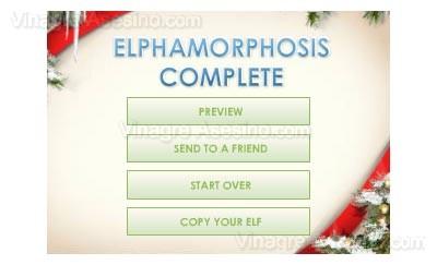 Tranformación en elfo completada