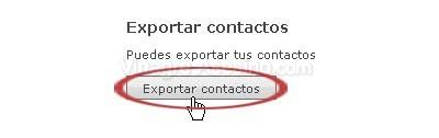 Trasladar contactos de Hotmail Live