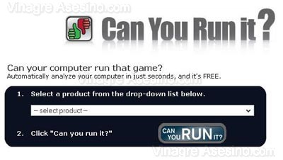 Queres saver si X juego te anda en tu PC?