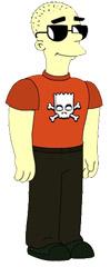 Avatar Vinagre Asesino Simpsons