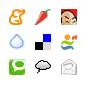Iconos de portales de noticias