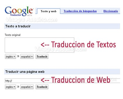 funciones traductor google Traductor Google