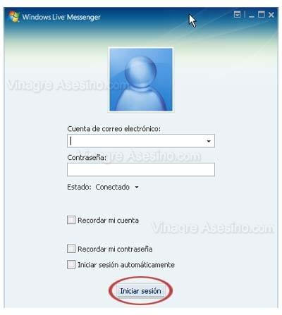 Ayudante de inicio de sesion de Windows Live