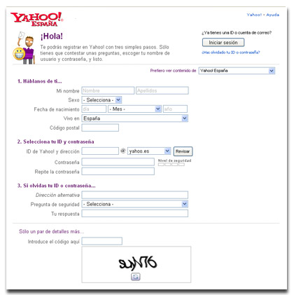 yahoo espanol correo: