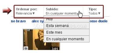Buscar en YouTube