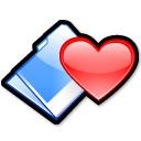 Carpeta corazón