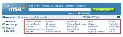 Canales de MSN.es