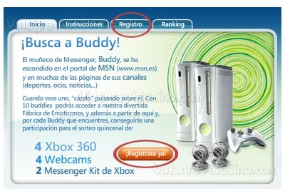 Registrate en Busca a Buddy