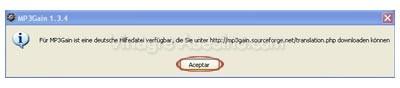 Ventana de aviso de ayuda en aleman