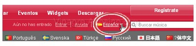 Last-fm en español