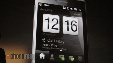 HTC TouchFLO 3D performance Tweak