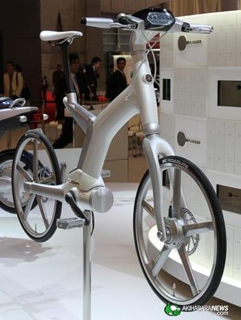 YAMAHA EV 1 thumb Maravillosos prototipos de bicicletas y de motos elaborados por Yamaha