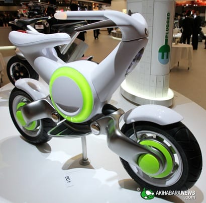 YAMAHA EV 2 thumb Maravillosos prototipos de bicicletas y de motos elaborados por Yamaha
