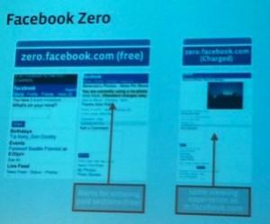 facebook zero 300x249 Facebook se encontraría preparando una  versión ultralite para móviles