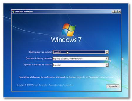 C mo instalar windows 7 taringa for Como instalar un estor plegable