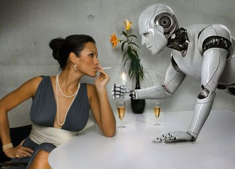 robots prostitutas sinonimo de empujar