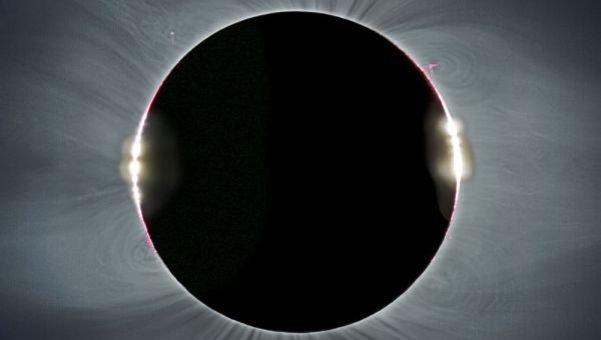 Eclipse de sol en vivo y directo