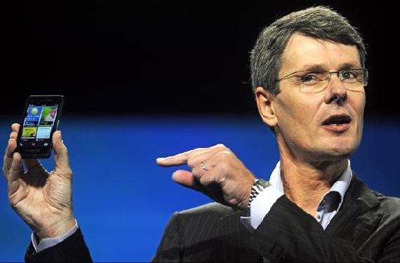 Thorsten Heins, CEO de RIM