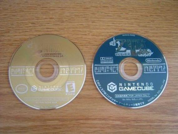 GameCube discos de juegos