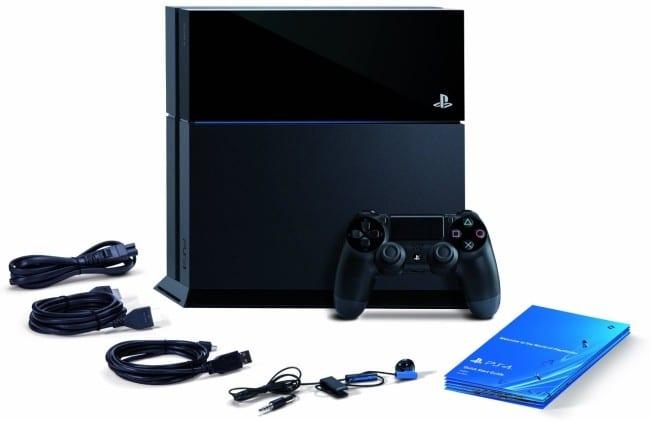 PS4 contenidos