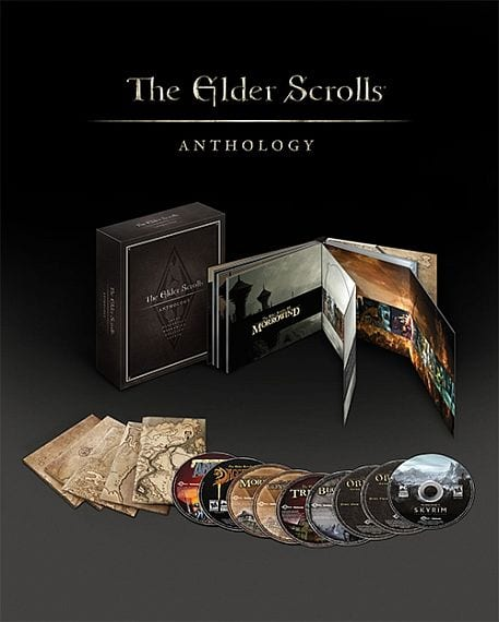 elder scrolls anthology