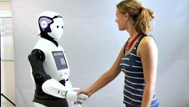 Asi es Reem el robot humanoide 54212982355 53699622600 601 341 Barcelona recibe cientos de robots