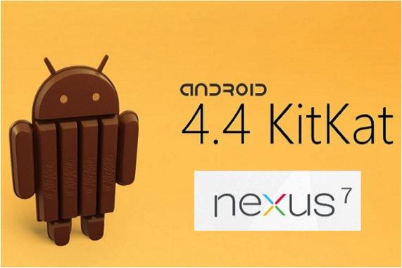 ANDROID KITKAT NEXUS 7