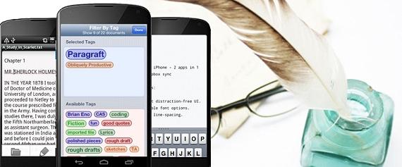 Editores de texto minimalistas en la web