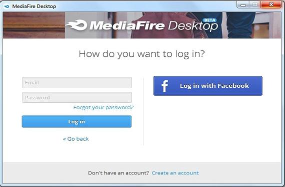 MediaFire Desktop 01