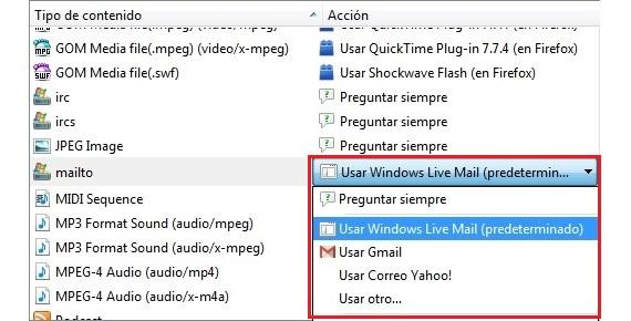Programas en Configuración de Firefox 01