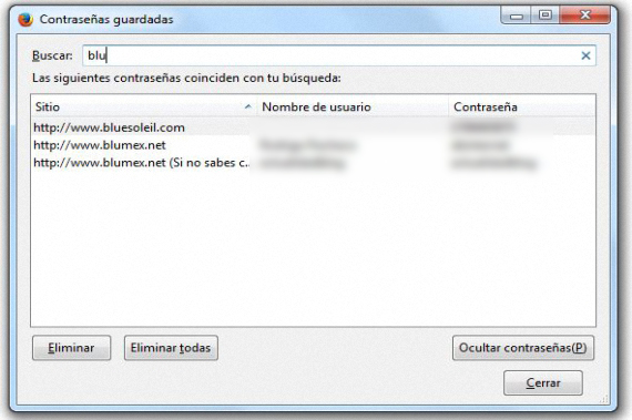 descubrir contraseñas Firefox 03