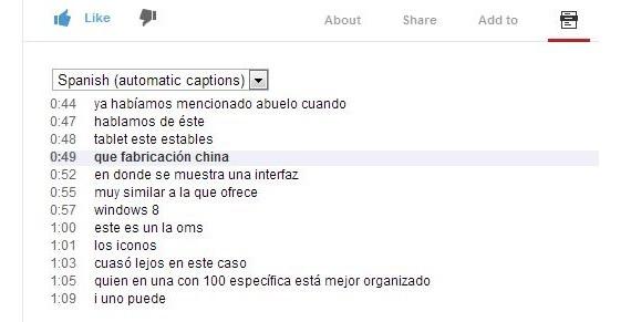 transcripcion en youtube 01
