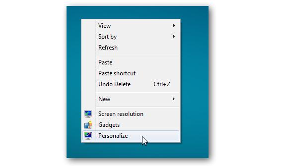 02 salvapantallas en Windows 7
