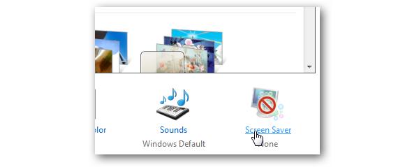 03 salvapantallas en Windows 7