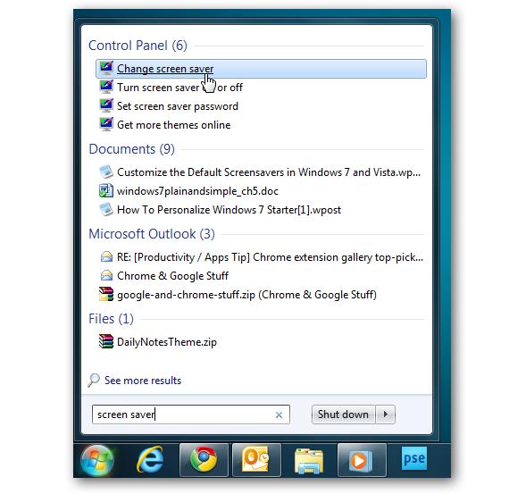 04 salvapantallas en Windows 7