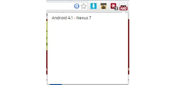 Android en Chrome