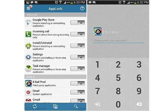 AppLock para Android