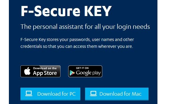 F-Secure KEY Password Manager 01