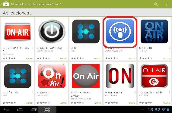 OnAin en Android