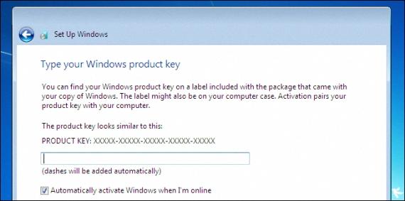 Serie de Windows 7