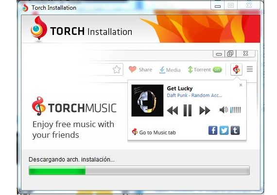Tourch Browser 01