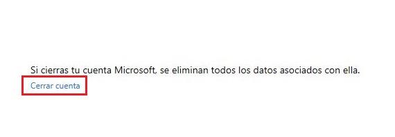 cerrar cuenta de Hotmail 03
