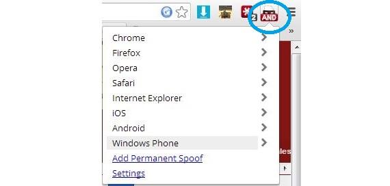 complemento para Chrome