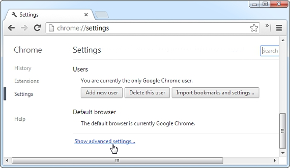 configuracion de Google Chrome 02