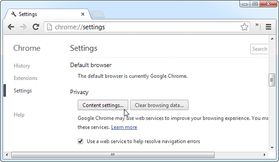 configuracion de Google Chrome 03