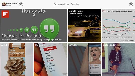 flipboard para Windows 8.1