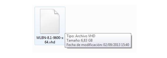 imagen de disco virtual VHD 04