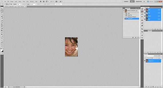 imagen en Photoshop