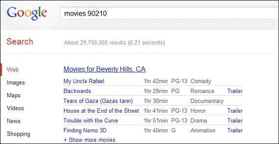 movies en Google